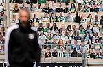 Pappmaschees der Gladbacher Fans vor dem Spiel.<br /><br />27.06.2020, Fussball, 1. Bundesliga, Saison 2019/20, 34. Spieltag, Borussia Moenchengladbach - Hertha BSC Berlin, <br /><br />Foto: MORITZ MUELLER/POOL/via/Meuter/Nordphoto<br />Only for Editorial use