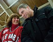 ? and Bertrand Michaud - The Harvard University Crimson defeated the St. Lawrence University Saints 4-3 on senior night Saturday, February 26, 2011, at Bright Hockey Center in Cambridge, Massachusetts.