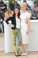 "Kristen Stewart and Kirsten Dunst attending the ""On the Road"" Photocall during the 65th annual International Cannes Film Festival in Cannes, France, 23rd May 2012...Credit: Timm/face to face /MediaPunch Inc. ***FOR USA ONLY***"