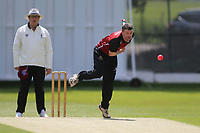 Joel Hughes of NMCC during North Middlesex CC vs Hampstead CC, Middlesex County League Cricket at Park Road on 25th May 2019
