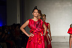 Models walk runway in outfits from the TVL collection for Free Fashion Week at Cope NYC, on October 10, 2019, during Fashion Week Brooklyn Spring Summer 2020.