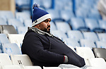 A Chelsea fan before the start of the premier league match at Stamford Bridge Stadium, London. Picture date 30th December 2017. Picture credit should read: Robin Parker/Sportimage