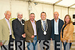 Flower Show.-----------.Enjoying the Sponsors and patrons reception at the marquee in the town park Tralee for the Garden and Flower Festival last Saturday evening were L-R Don Nolan(Liscahane nurseries)Johnny Wall,Dermot O Neill(RTE)Ted Fitzgerald(Tralee Town Mayor)Paul MAher and Ann Fitzgerald.   Copyright Kerry's Eye 2008
