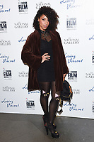 Lianne Le Havas<br /> arriving for the London Film Festival 2017 screening of &quot;Loving Vincent&quot; at the National Gallery, Trafalgar Square, London<br /> <br /> <br /> &copy;Ash Knotek  D3328  09/10/2017