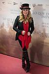"Miriam Diaz Aroca attends to the premiere of the film ""Lo que de verdad importa"" in Madrid, Spain. February 15, 2017. (ALTERPHOTOS/BorjaB.Hojas)"