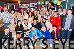 Francis Quirke, Shanakill, Tralee, celebrates his 30th birthday with family and friends at the Greyhound Bar on Saturday