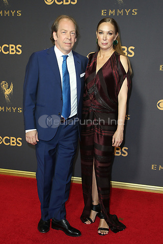 LOS ANGELES, CA - September 17:  Elizabeth Marvel and Bill Camp at The 69th Emmy Awards At The Microsoft Theater In California on September 17, 2017. Credit: FayeS/MediaPunch