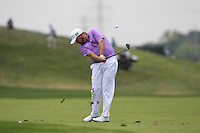 Shane LOWRY (IRL) plays his 2nd shot on the 1st hole during Thursday's Round 1 of the 2014 PGA Championship held at the Valhalla Club, Louisville, Kentucky.: Picture Eoin Clarke, www.golffile.ie: 7th August 2014