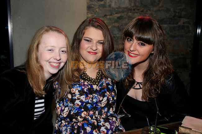 Lea McHugh, Mine MIe And Emma Barry out on the town<br /> Picture: Fran Caffrey www.newsfile.ie