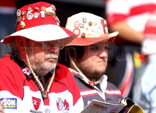 11.09.2010 Premiership Rugby Gloucester v Leeds Carnegie - Gloucester supporters