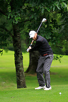 Stephen Walsh (Portmarnock) on the 3rd tee during round 1 of The Mullingar Scratch Cup in Mullingar Golf Club on Sunday 3rd August 2014.<br /> Picture:  Thos Caffrey / www.golffile.ie