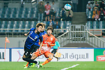 Gamba Osaka Defender Miura Genta (L) in action during the AFC Champions League 2017 Group H match Between Jeju United FC (KOR) vs Gamba Osaka (JPN) at the Jeju World Cup Stadium on 09 May 2017 in Jeju, South Korea. Photo by Marcio Rodrigo Machado / Power Sport Images