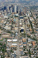 Downtown Denver aerial.  Aug 2013. 81435