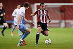 Samir Carruthers of Sheffield Utd  during the English League One match at Bramall Lane Stadium, Sheffield. Picture date: April 5th 2017. Pic credit should read: Andy Jones/Sportimage