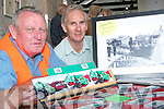 MUSEUM: Cllr Tim O'Leary and Jed Chute, Listowel who were manning the station at the Lartigue Museum on Thursday, which gave Listowel its first chance to see the refurbished building and the collection of Lartigue memorabilia.    Copyright Kerry's Eye 2008