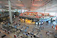 Terminal 3 Beijing International Airport. Designed by British architect Lord Norman Foster..