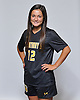Francesca Venezia of St. Anthony's poses for a portrait during the Newsday 2015 varsity girls' soccer season preview photo shoot at company headquarters on Thursday, September 10, 2015.<br /> <br /> James Escher