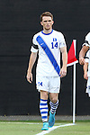 30 August 2015: Duke's Ryan Thompson. The Duke University Blue Devils hosted the DePaul University Blue Demons at Koskinen Stadium in Durham, NC in a 2015 NCAA Division I Men's Soccer match.