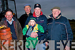 WRAPPED: Well wapped up at the Causeway Plouging Competition on Sunday on Timmy Leahy's Land, Causeway, were: Michael Falvey (Abbeydorney), Eddie Houlihan (Ballyduff), Bernard and Alfie Dineen (Ballyduff) and Jimmy Lawlor(Abbeydorney).....................