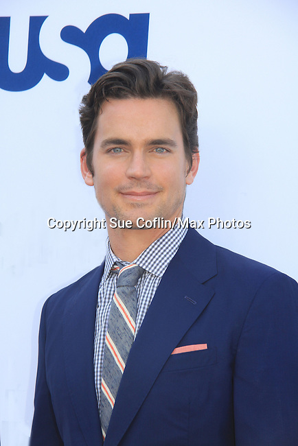 - USA Network's 2013 Upfront Event with actors from White Collar, Psych, Necessary Roughness, Royal Pains, Suits, Burn Notice, Covert Affairs and now joined by Modern Family on May 16, 2013 at Pier 36, New York City, New  (Photo by Sue Coflin/Max Photos)