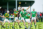 Ballyduff's Garry O'Brien   in the County Championship Hurling Round 1 Kilmoyley  against Ballyduff at Abbeydorney GAA ground on Sunday