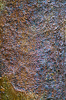 industrial textures - pitted forged steel shaft