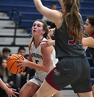 Har-Ber's Caylan Koons looks to shoot against Springdale Tuesday Jan. 14, 2020 at Har-Ber. Visit http://bit.ly/2Rm1Z2e for a gallery from the game. (NWA Democrat-Gazette/J.T. Wampler)