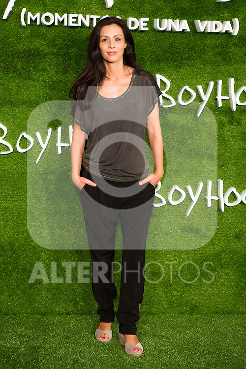 "Ana Alvarez attend the photocall of the Premiere of the movie ""Boyhood"" at the Cineteca in Madrid, Spain. September 09, 2014. (ALTERPHOTOS/Carlos Dafonte)"