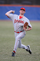 March 9, 2010:  Kasey Ourada of the Illinois State Redbirds during a game at McKethan Stadium in Gainesville, FL.  Photo By Mike Janes/Four Seam Images