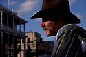 A cowboy in downtown Flagstaff, Arizona.<br />