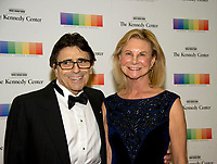 Edward Villella and his wife, Linda, arrive for the formal Artist's Dinner honoring the recipients of the 40th Annual Kennedy Center Honors hosted by United States Secretary of State Rex Tillerson at the US Department of State in Washington, D.C. on Saturday, December 2, 2017. The 2017 honorees are: American dancer and choreographer Carmen de Lavallade; Cuban American singer-songwriter and actress Gloria Estefan; American hip hop artist and entertainment icon LL COOL J; American television writer and producer Norman Lear; and American musician and record producer Lionel Richie.  <br /> Credit: Ron Sachs / Pool via CNP /MediaPunch