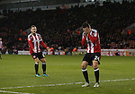 Danny Lafferty of Sheffield Utd dejected after missing a chance during the English League One match at Bramall Lane Stadium, Sheffield. Picture date: November 29th, 2016. Pic Simon Bellis/Sportimage