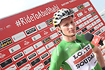 Andre Greipel (GER) Lotto-Soudal at sign on before the start of Stage 2 the Nation Towers Stage of the 2017 Abu Dhabi Tour, running 153km around the city of Abu Dhabi, Abu Dhabi. 24th February 2017<br /> Picture: ANSA/Claudio Peri | Newsfile<br /> <br /> <br /> All photos usage must carry mandatory copyright credit (&copy; Newsfile | ANSA)