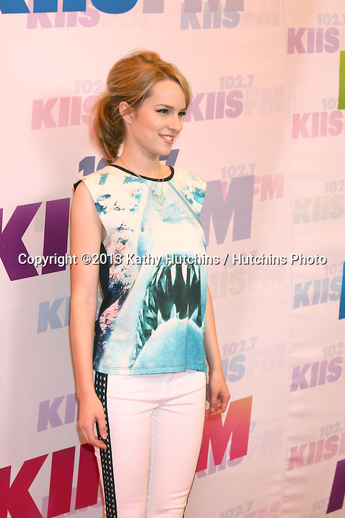 LOS ANGELES - MAY 11:  Bridgit Mendler attend the 2013 Wango Tango concert produced by KIIS-FM at the Home Depot Center on May 11, 2013 in Carson, CA