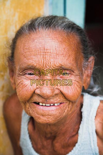 Old lady smiling, Trinidad, Sancti Spiritus Province, Cuba