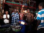Onlookers at Karnaval, Jacmel.