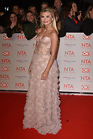 Georgia 'Toff' Toffolo attending the National Television Awards 2018 at The O2 Arena on January 23, 2018 in London, England. <br /> CAP/Phil Loftus<br /> &copy;Phil Loftus/Capital Pictures