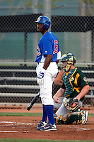 Charles Thomas -  Chicago Cubs - 2009 Arizona League.Photo by:  Bill Mitchell/Four Seam Images