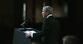 United States President George W. Bush speaks at the President's Dinner in Washington, DC on June 14, 2005.  <br /> Credit: Dennis Brack - Pool via CNP