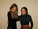 Melissa Ordway & Melissa Claire Egan - The Young and The Restless - Genoa City Live celebrating over 40 years with on February 27. 2016 at The Lyric Opera House, Baltimore, Maryland on stage with questions and answers followed with autographs and photos in the theater.  (Photo by Sue Coflin/Max Photos)