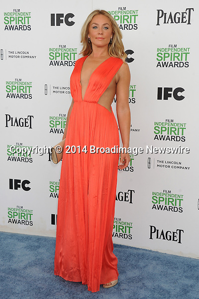 Pictured: Elisabeth Rohm<br /> Mandatory Credit &copy; Gilbert Flores/Broadimage<br /> 2014 Independent Spirit Awards<br /> <br /> 3/1/14, Santa Monica, California, United States of America<br /> <br /> Broadimage Newswire<br /> Los Angeles 1+  (310) 301-1027<br /> New York      1+  (646) 827-9134<br /> sales@broadimage.com<br /> http://www.broadimage.com