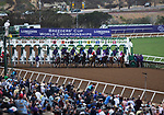 DEL MAR, CA - NOVEMBER 03: The field breaks from the gate in the Longines Breeders\'92 Cup Distaff on Day 1 of the 2017 Breeders' Cup World Championships at Del Mar Thoroughbred Club on November 3, 2017 in Del Mar, California. (Photo by Kazushi Ishida/Eclipse Sportswire/Breeders Cup)