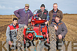 TRACTORS: Ploughing with an Vintage Tractor at the Ballyhige ploughiong competition on Sunday on Derek and Michael O'Driscoll's land,Ballyheigue.l-r: Paul Barrett (Causeway), Ger McCarthy, John McCarthy, JP Corridon(Ballyheigue) and Michael O'Sullivan (Churchill).
