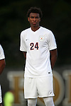 10 September 2016: Virginia's Jerren Nixon Jr. The Wake Forest University Demon Deacons hosted the University of Virginia Cavaliers in a 2016 NCAA Division I Men's Soccer match. Wake Forest won the game 1-0 in sudden death overtime.