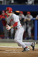 March 9, 2010:  Outfielder Chad Hinshaw of the Illinois State Redbirds during a game at McKethan Stadium in Gainesville, FL.  Photo By Mike Janes/Four Seam Images