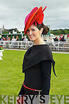 Emer Nash finalists in the best dressed lady competition pictured at Listowel races on Sunday.