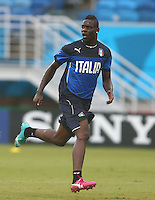 Mario Balotelli of Italy during training ahead of tomorrow's Group D match vs Uruguay
