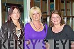 Maria Feehan, Catriona Browne and Veronica Fealey enjoying the Castleisland Parish dance in the River Island Hotel Castleisland on Saturday night