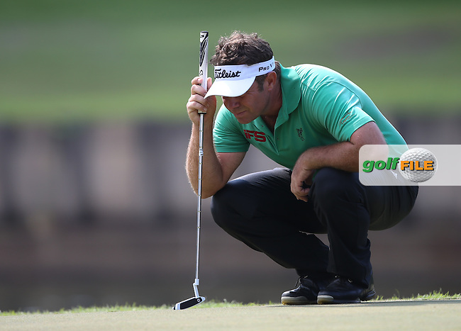 Scott Barr (AUS) carded a 72 and T24 during the Final Round of the The Championship 2014 from the Laguna National Golf & Country Club, Tampines, Singapore. Picture:  David Lloyd / www.golffile.ie