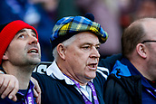 9th February 2019, Murrayfield Stadium, Edinburgh, Scotland; Guinness Six Nations Rugby Championship, Scotland versus Ireland; The flower of Scotland is sung from the stands